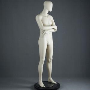 Make Up Full Lifelike Male Mannequin Doll Fiberglass Cloth Full Body