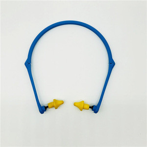 Medical grade foam earplugs noise reduction hearing protector for shooting