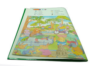 My first big english book of picture dictionary for kids