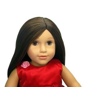 OEM 18 inch Medium Skin African Ethnic American Girl Doll