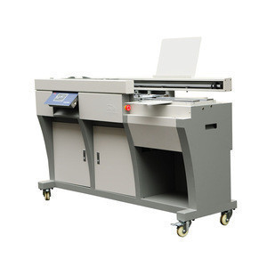 Office Or Factory Supply Fully Automatic Book Binder Machines, Custom Hardcover Book  Binding Machine