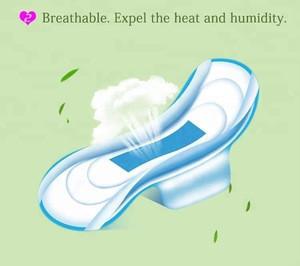 Overnight use herbal high absorbency sanitary pads
