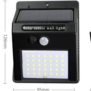 PIR Motion Sensor Wall Light 35 LED Solar Energy Street light Outdoor Waterproof Yard Path Home Garden Security Solar Power lamp