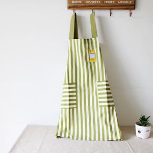 Promotional Eco-friendly Cotton Bib Apron Restaurant/Kitchen Apron with Adjustable