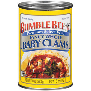 seafood and best canned clams