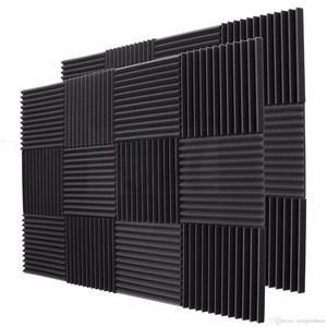 Studio background sound proof foam absorption