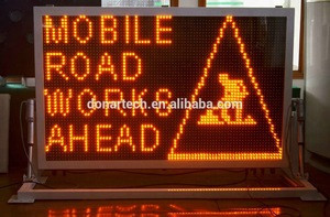 Vehicle mounted Traffic Message Sign