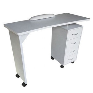 White Modern New Style Wholesale Manicure Table For Beauty Salon