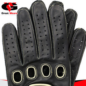 Wholesale driving leather gloves for men | Classical design gloves