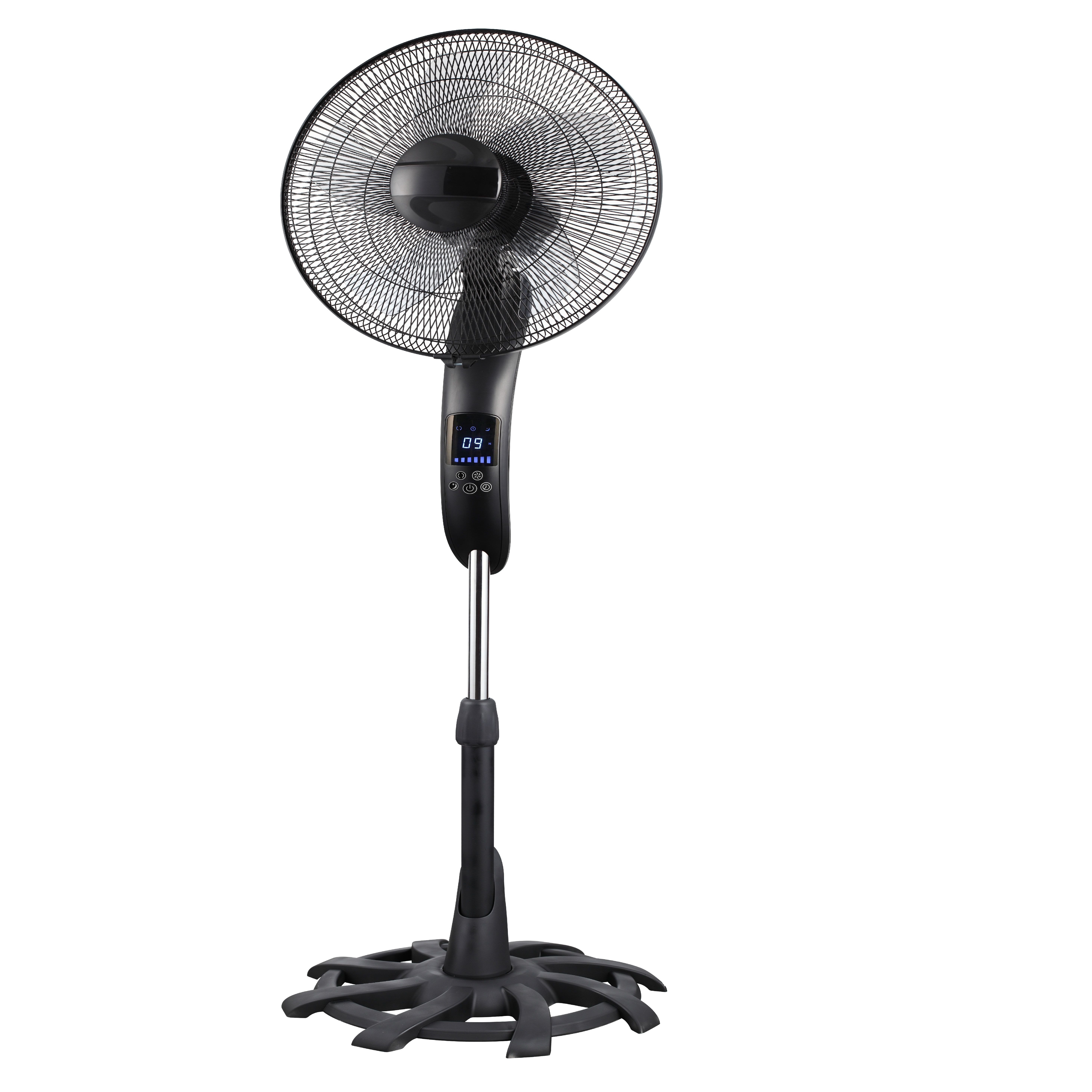 2020 patented 16inch touch screen remote control electric stand fan