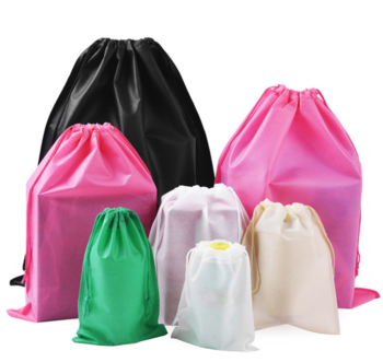 Custom manufacturer polypropylene drawstring bag for promotion/gift/advertising non woven bag