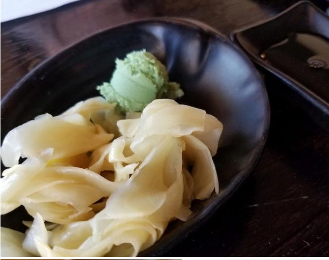 Gari Sushi//pickled white sushi