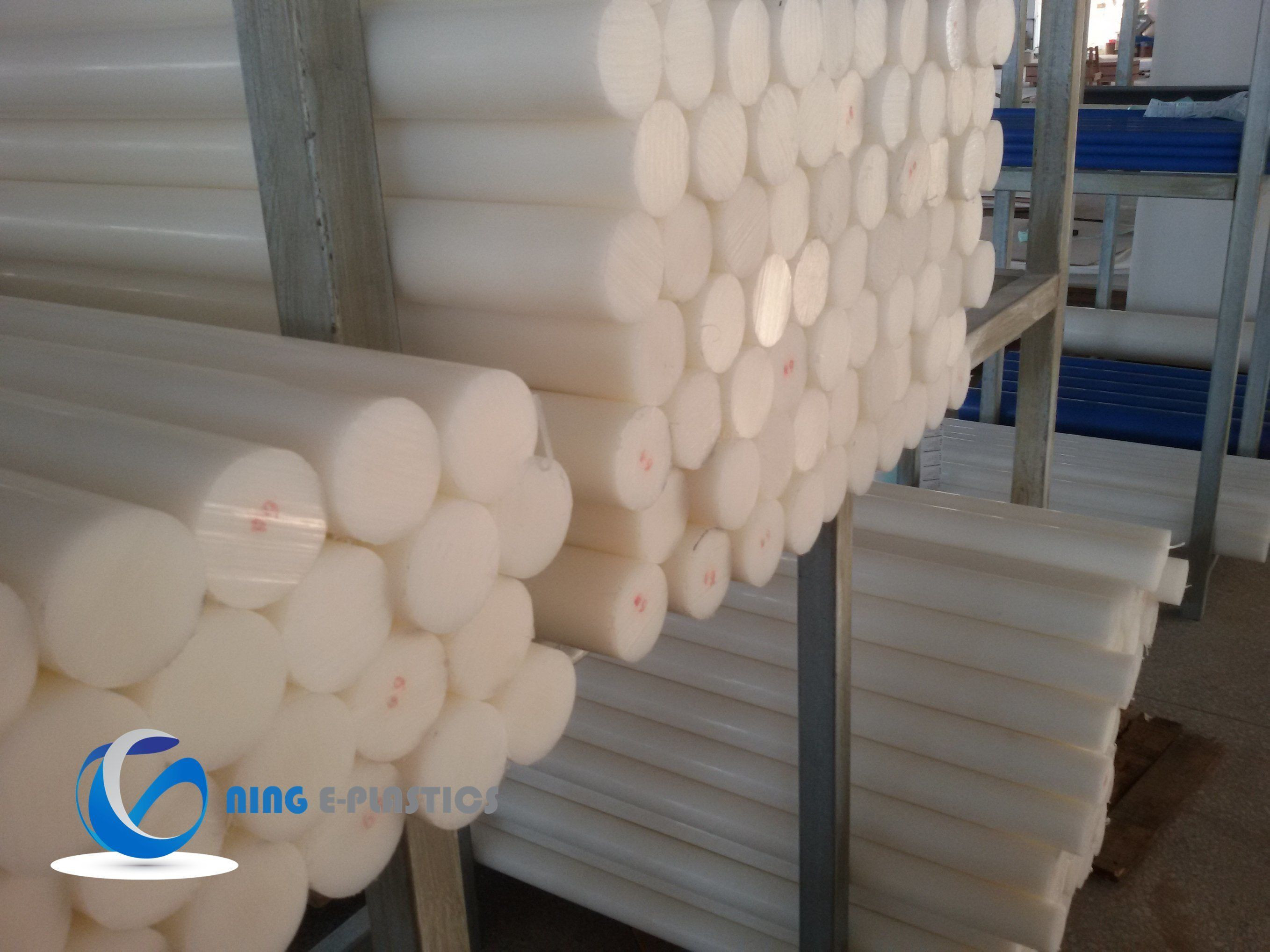 HDPE Rod with Natural Colour