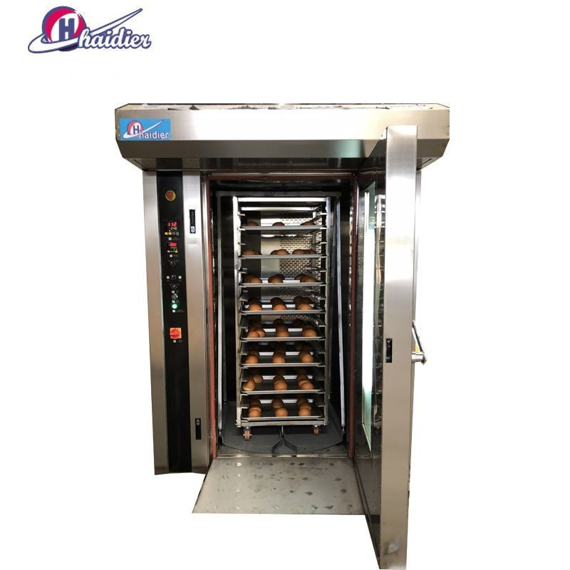 32 trays electric/ diesel/ gas rotary oven