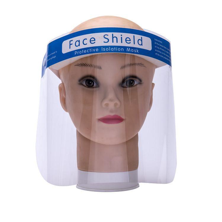 Safety Anti-fog Dental Visor Protection Face Shield with Frame