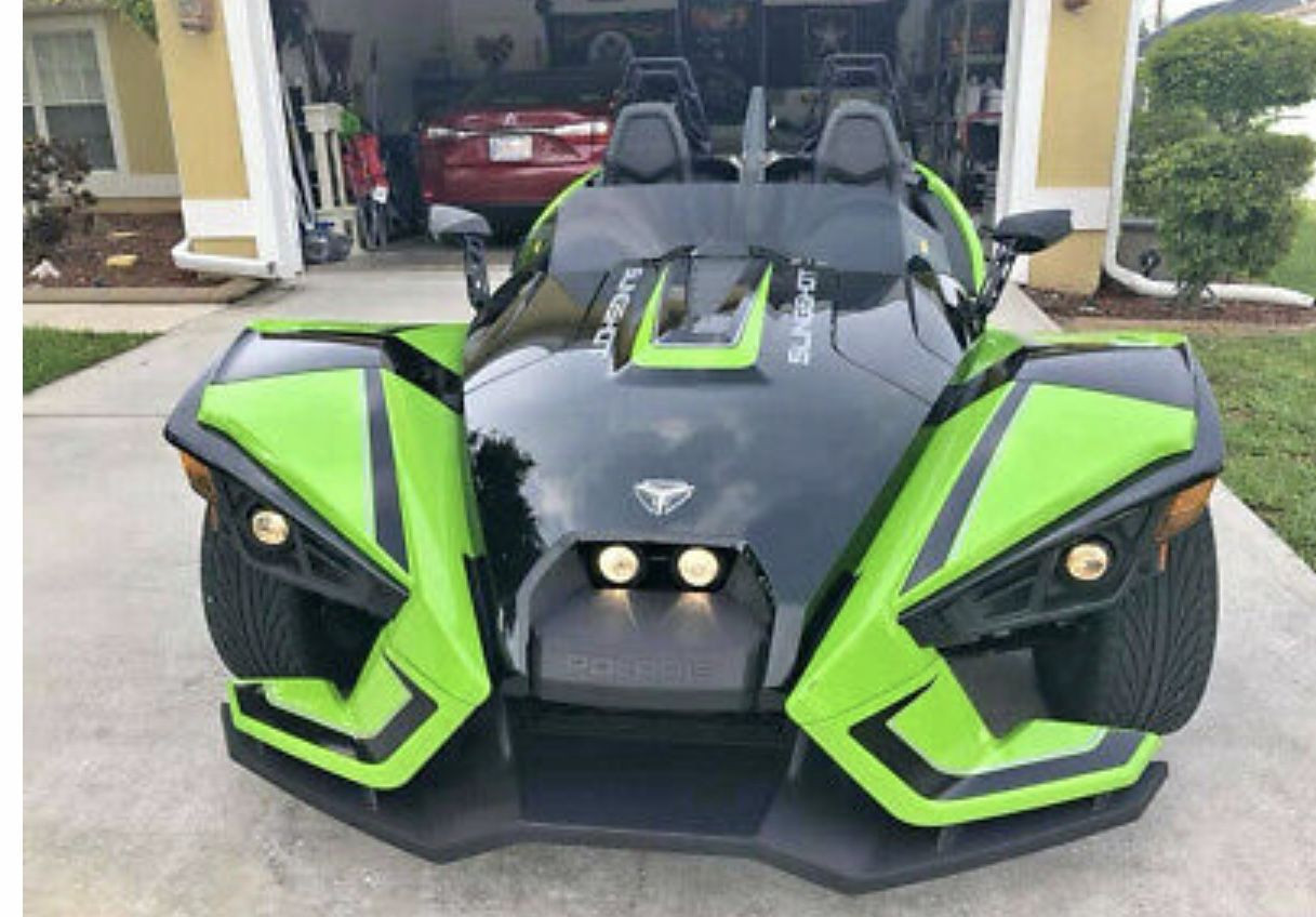 Polaris Slingshot Motorcycle 2019 Model