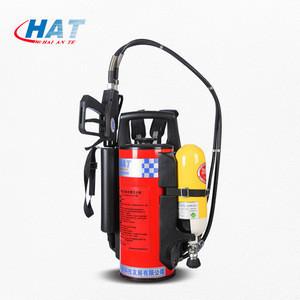 12 L Backpack Fireman gun/Firefighting Water Mist Fire Extinguisher