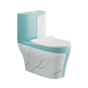 2020 Strong momentum New design black color ceramic bathroom one piece wc toilet prices