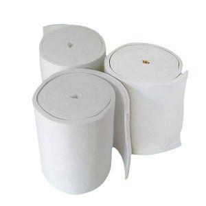 20mm/50mm thickness 1260 Degree Ceramic Fiber blanket Aluminum Silicate Blanket for  furnace insulation blanket