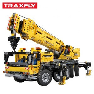 2590pcs City Engineering crane car Technic Machine Car Building Blocks Enlighten Bricks Toys For Children Gifts