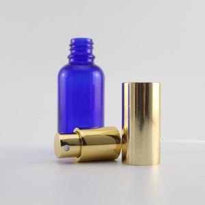 30ml blue glass perfume essential oil perfume glass bottle