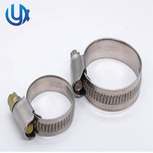 3/4 Inches German Type Worm Drive Fastening Usage Industry Hose Clamp