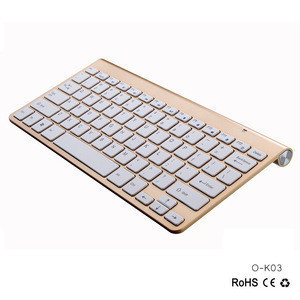 AVATTO Ultra Slim Office and Home Use 2.4G Wireless Keyboard and Mouse Combo for Mac Windows Desktop PC Laptop Smart TV Box