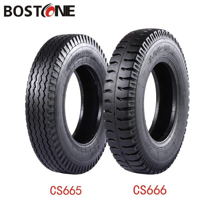 Best selling  LUG RIB tread pattern 7.50 16 bias light truck tires