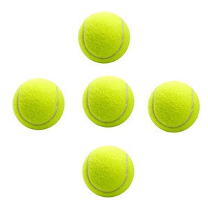 Brand Quality Tennis ball for training 100% synthetic fiber Good Rubber Competition standard tennis ball low price on sale