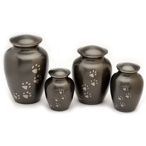 Brass classic pet urn