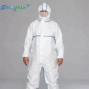 Cheap Safety Work Suit Protective Disposable coverall For Spray Painting