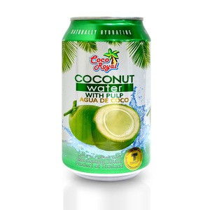Coconut Water With Pulp Coco Royal Brand from Thailand