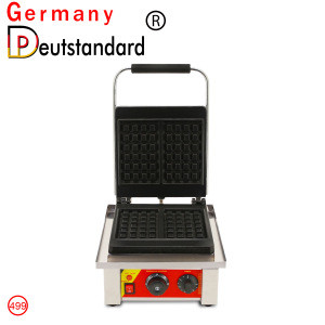 Commercial electric cast iron waffle maker machine and waffle machine for sale