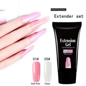 Crystal extension gel set 30ml nail oil bottom glue sealant nail light therapy rapid extension Nails Gel Uv Gel Polish