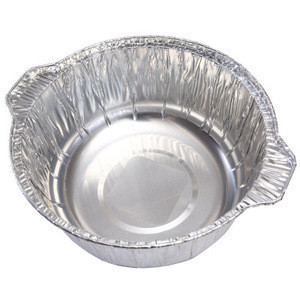 Different  capacity round chafing dish take-out package aluminum tin foil paper pot