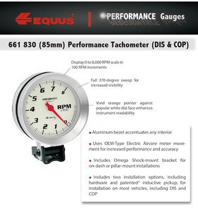 Digital tachometer motorcycle 8000 RPM meter gauge