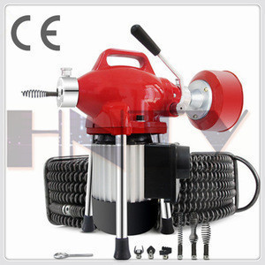 Electric Drain Auger Cleaner Cleaning Sewer Plumbing Tool