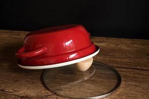 Enamel mini milk pot noodles bowl small soup ears pan baby stewpot stockpot