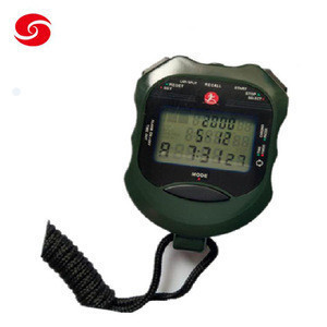 Good quality professional military police army training stopwatch timer chronograph