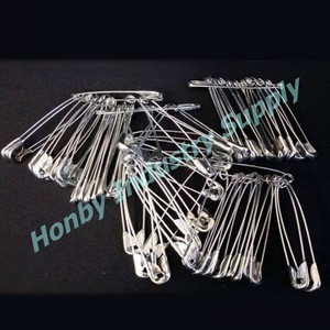 Hand Craft 55mm Silver Color Craft Big Metal Safety Pins