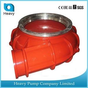 Heavy Pump spare parts- slurry pump cover plate pump casing spare Hebei