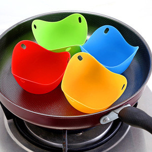 High - temperature Resistance Silicone Eggs Boiler Environmental Friendly Non - toxic Food-grade Silicone Egg Holder