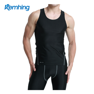 Hot summer lycra fast dry gym wear men running wrestling singlet