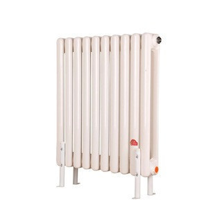 Hydronic water steel heating double column radiator for room