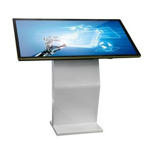 Indoor 4K 55 inch PC LED back-light ultra wide touch screen monitor & computer usb multi touch screen overlay kits
