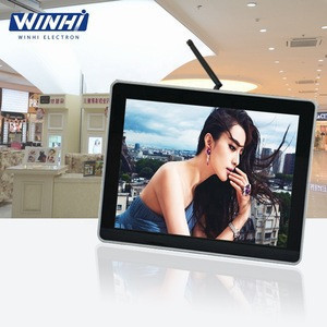 Indoor for supermarket mini digital signage advertising equipments shelves display screen 17inch lcd panel