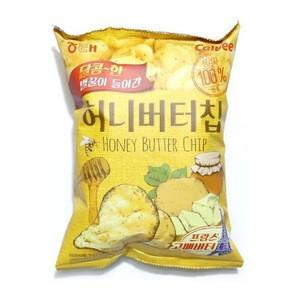 Korean_snacks huney butter potato chips