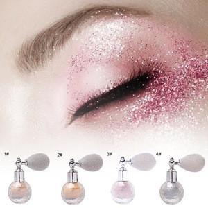 Makeup glitter spray shimmer loose powder face shadow body shimmer brightening powder