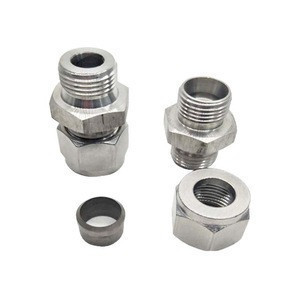 Male Run Tee/tube Fittings/double Ferrule/spare Parts/stainless Steel Connectors