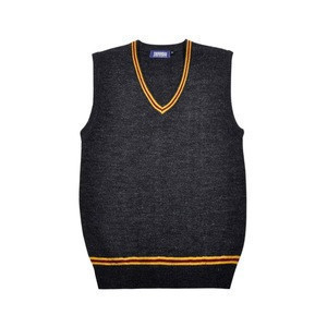 Movie Costumes Hogwarts Students School Uniform Slytherin Ravenclaw Gryffindor Cosplay Sweater Vest